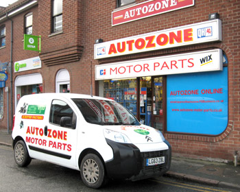 Autozone Motor parts shop Newmarket